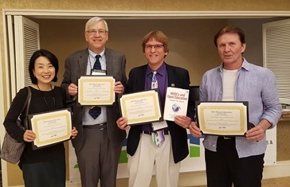 MOOC Book Authors Win Award